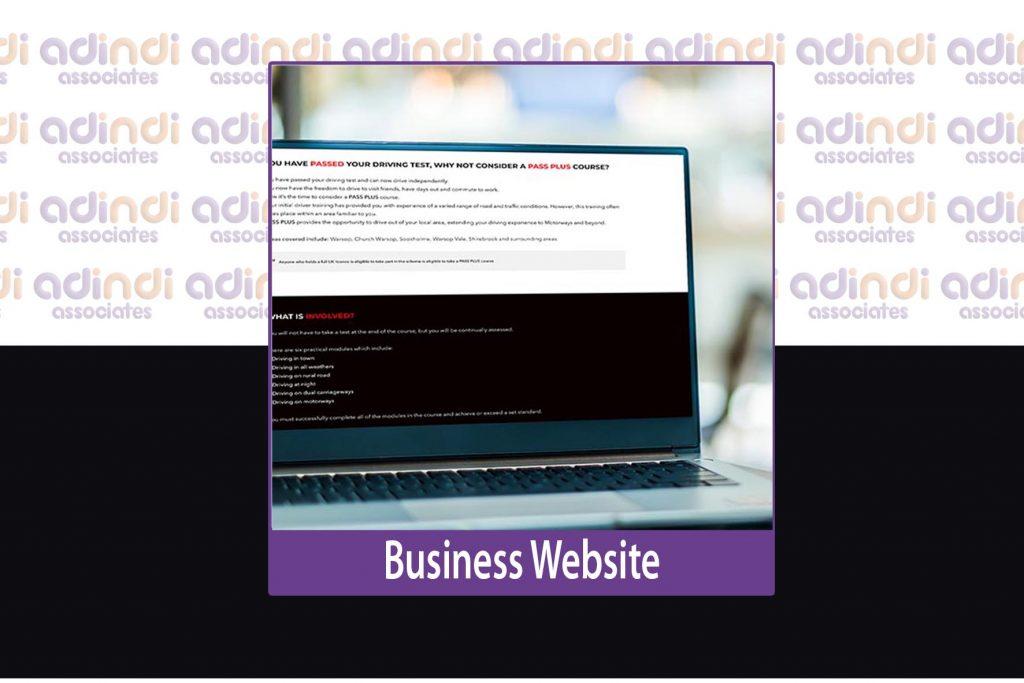 adindi business website
