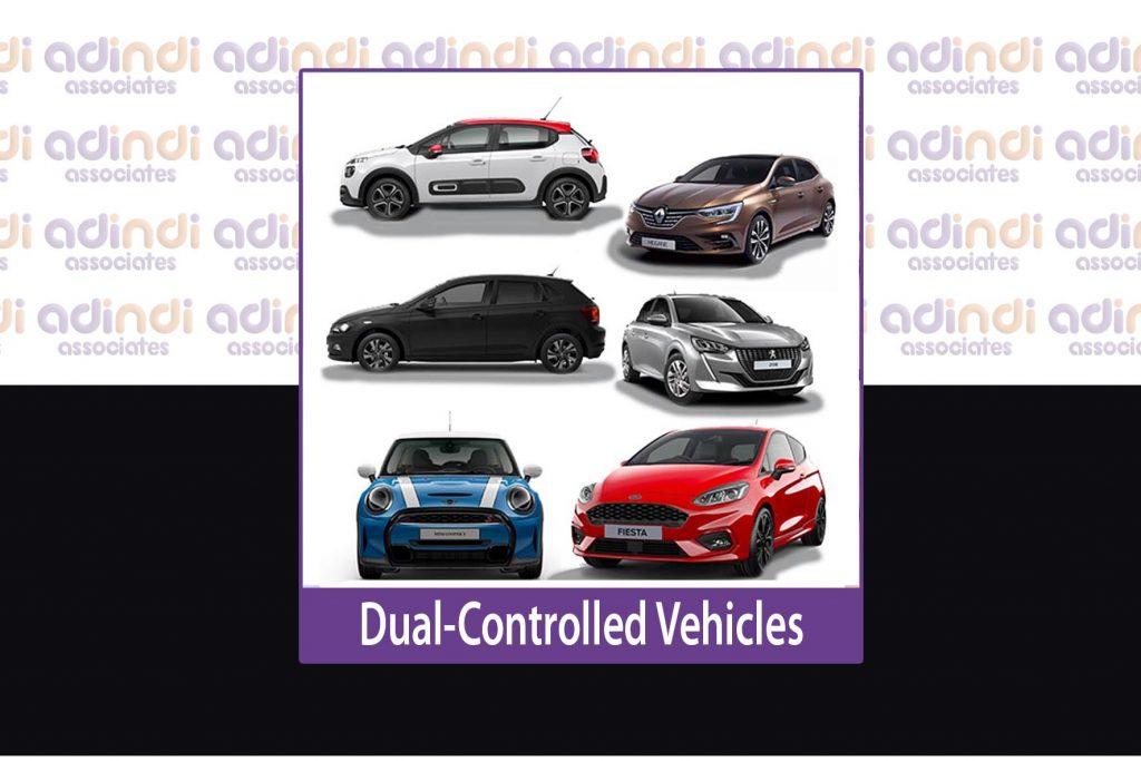 adindi dual control vehicles